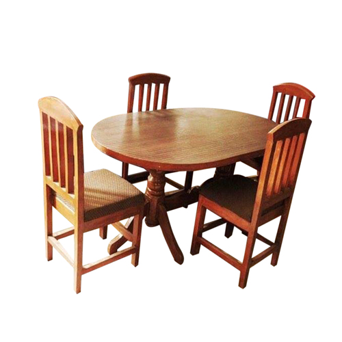 Dining Table Set (4 Chairs) - 3*5 FT
