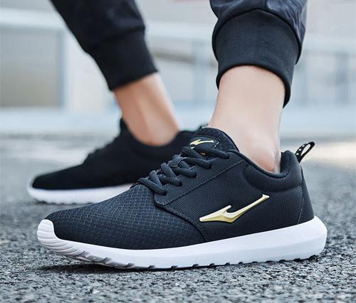 Erke men's shoes sneakers net breathable running