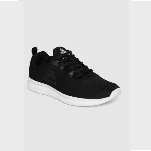 Peak Black Running Shoes For Men