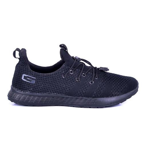 Goldstar Black Sports Shoes For Men G10G205