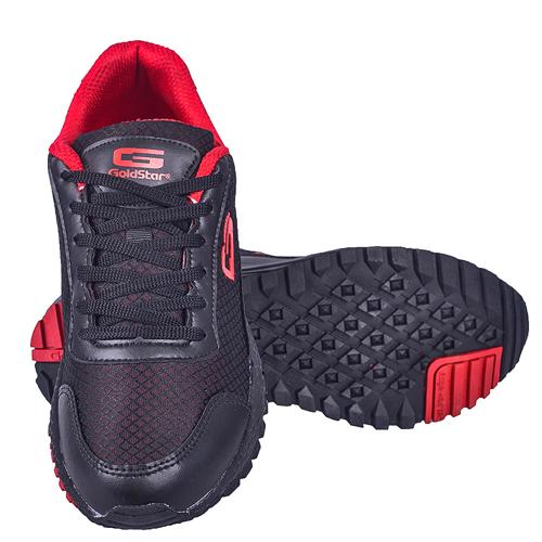 Goldstar Black Red Sports Shoes For Men G10-404