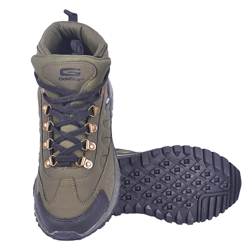 Goldstar Grey Shoes For Men G10-401