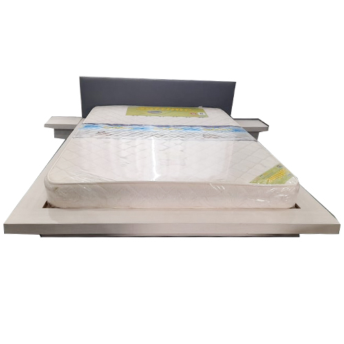 Modern White King Size Bed