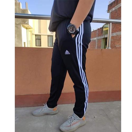 Adidas Black Regular Track Pants