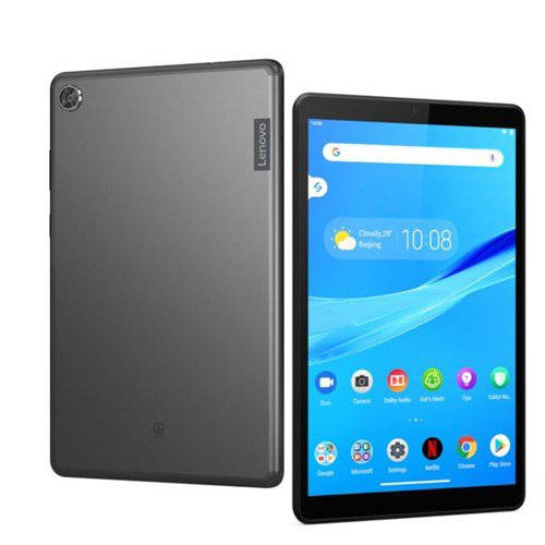 """Lenovo Tab M8 Tablet, 8"""" HD Android Tablet, Quad-Core Processor, 2GHz, 32GB Storage, Full Metal Cover, Long Battery Life, Android 9 Pie"""